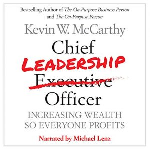 Chief Leadership Officer audio book cover