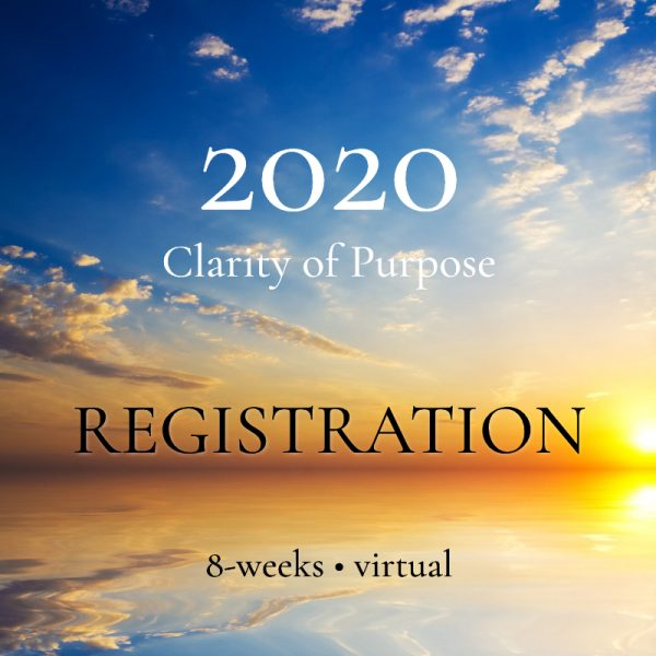 2020 Clarity of Purpose registration
