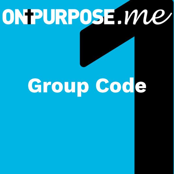 ONPURPOSE.me Christian Group Code image